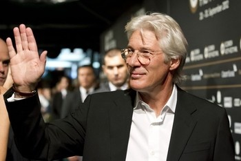 Richard Gere in Zurich