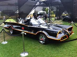 Adam West Batmobile