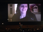 Laura Poitras on Skype at LFF