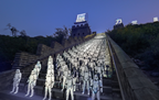 Star Wars The Force Awakens at The Great Wall of China