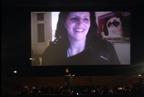 Laura Poitras on Skype at LFF