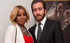 Mary J Blige and Jakes Gyllenhaal