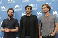 Andrew Garfield, Ramin Bahrani and Michael Shannon in Venice
