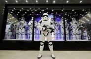 Star Wars: The Force Awakens -- Stormtroopers at Galleries Layfayette in Paris