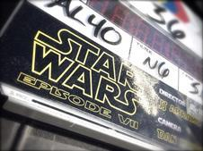 Star Wars: Episode VII clapperboard