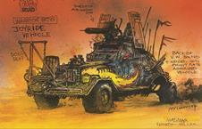 Mad Max Fury Road concept image 2