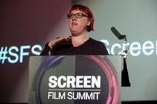 Lucy Jones Rentrack at the Screen Film Summit 2015