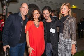 David Lipman, Producer - Caroline Norbury, Creative England CEO - Tom Payne, Actor - Jennifer Ackerman, Model