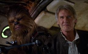 Star Wars: The Force Awakens trailer screengrab