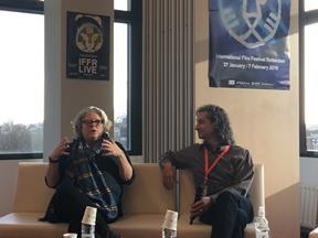 IFFR Building and Engaging Your Audience panel