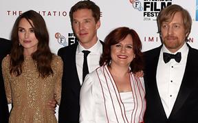 Keira Knightley, Benedict Cumberbatch, Clare Stewart, Morten Tyldum