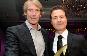 Michael Bay and Dion Beebe