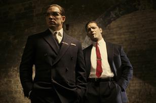 Tom Hardy in the first image from Legend