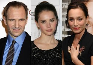 Ralph Fiennes, Felicity Jones, Kristin Scott Thomas