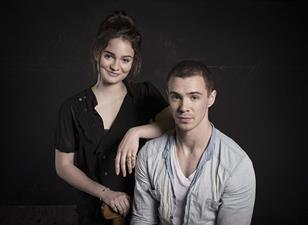 Aisling Franciosi and Sam Keeley