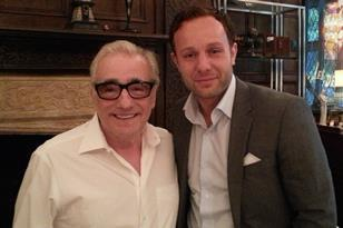 Martin Scorsese and Sebastian Street