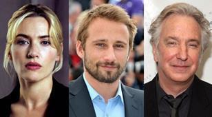 Kate Winslet, Matthias Schoenaerts, Alan Rickman