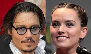 Johnny Depp Daisy Ridley