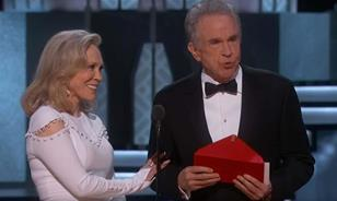 Best picture Oscar gaffe
