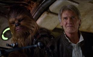 Star Wars: The Force Awakens trailer screengrab