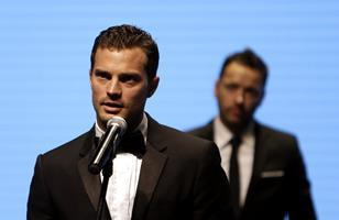 Jamie Dornan and Sean Ellis at Karlovy Vary International Film Festival