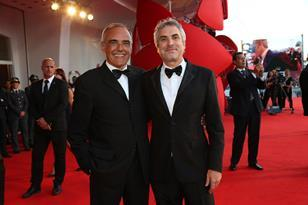 Alberto Barbera and Alfonso Cuaron
