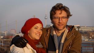 Linea Saasen and Alex Holdridge