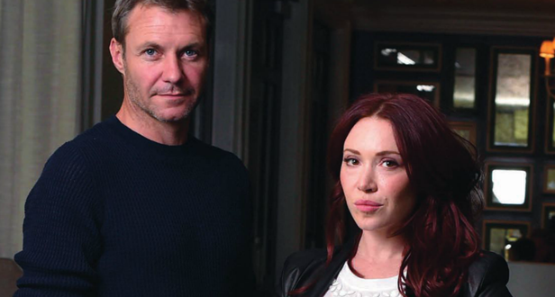 Chris Vance and Daisy Lewis