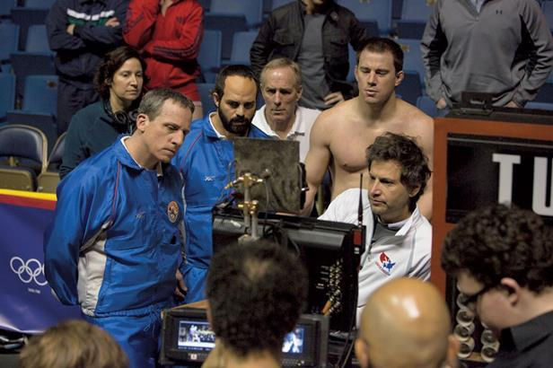 On set of Foxcatcher